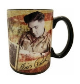Mug Elvis In The Army