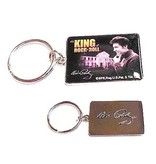 Sleutelhangerset 2 stuks - Elvis Nr. 1 Fan - King Of Rock 'n Roll