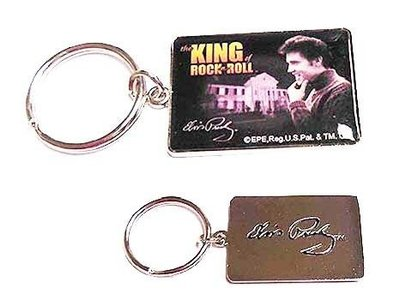 Keychain Set 2 pieces - Elvis Nr. 1 Fan - King Of Rock 'n Roll