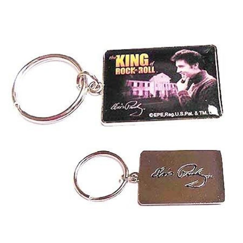 Sleutelhangerset 2 stuks - Elvis Nr. 1 Fan - King Of Rock 'n Roll