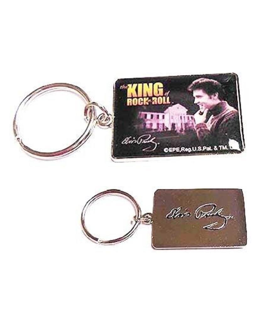 Keychain Set 2 pieces - Elvis Nr. 1 Fan - King Of Rock 'n Roll