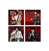 Coasters - Elvis Live - Set of 4