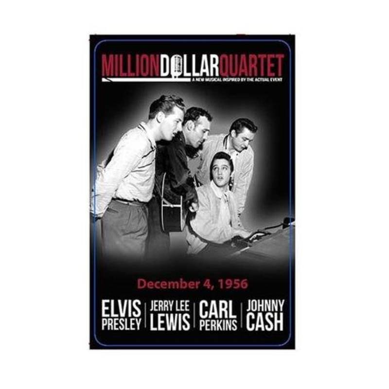 Playing Cards Elvis In The Million Dollar Quartet