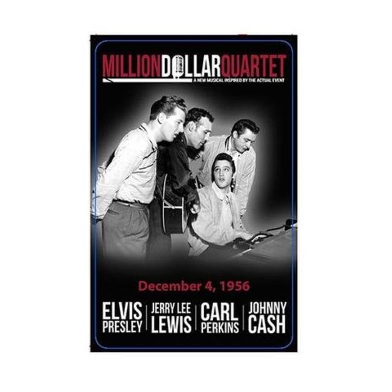 Speelkaarten Elvis In The Million Dollar Quartet