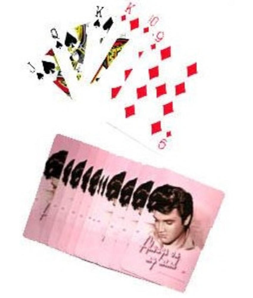 Playingcards Elvis Pink Always On My Mind
