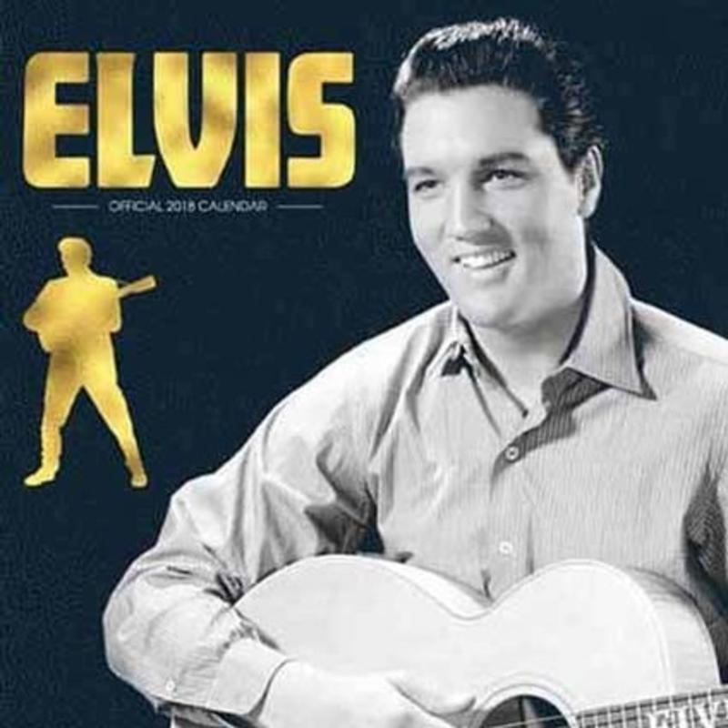 Calendar 2018 - Elvis - Danilo Square