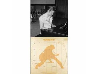 Kalender 2018 - Elvis - Danilo Collectors Edition - Met LP Hoes Cover
