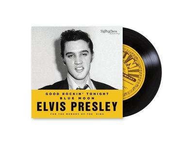 Rolling Stone Magazine - Met Elvis Vinyl Single