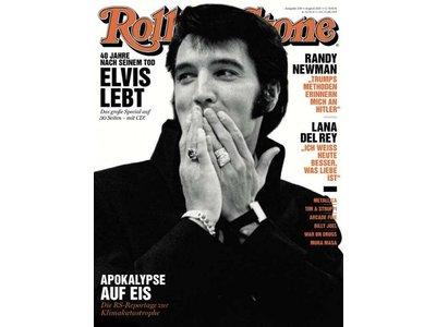 Rolling Stone Magazine - With Elvis Vinyl Single