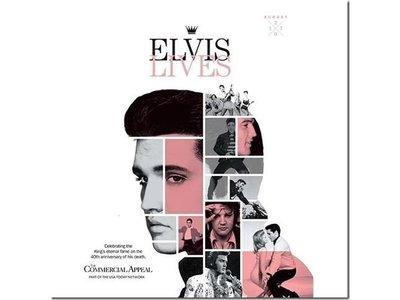 Commercial Appeal - Elvis Lives
