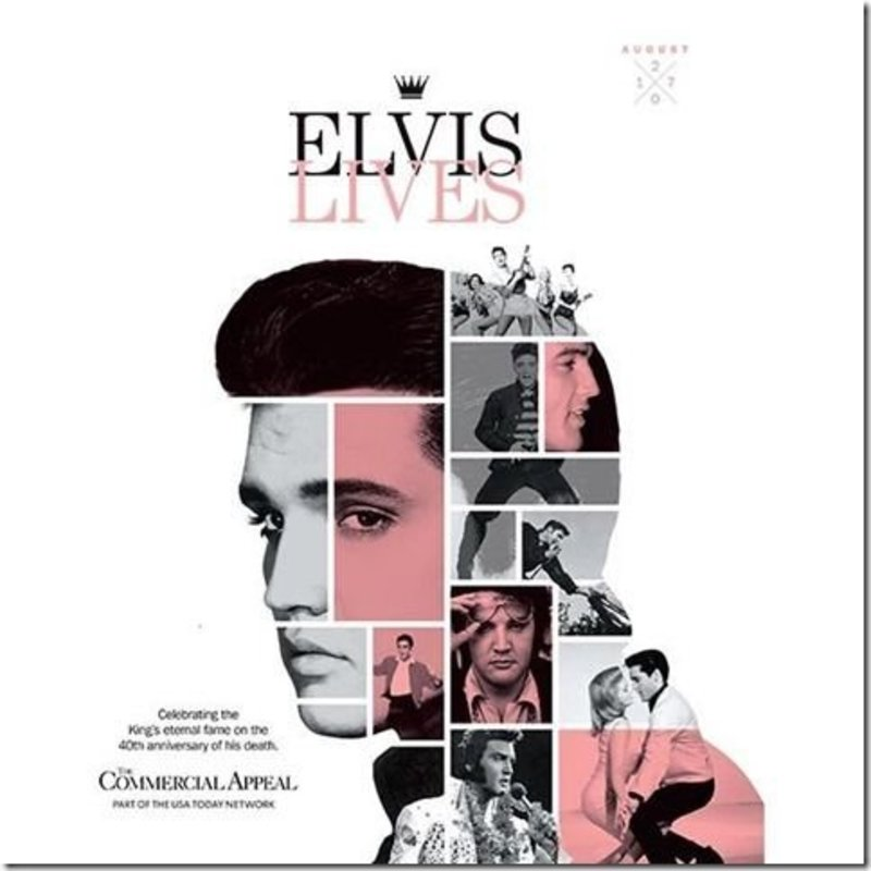 Commercial Appeal - Elvis Lives