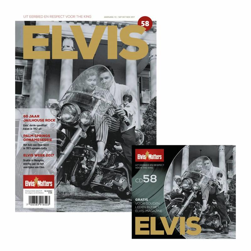 Magazine With CD - ELVIS 58