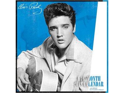 Kalender 2018 - Elvis Presley 16 maanden kalender