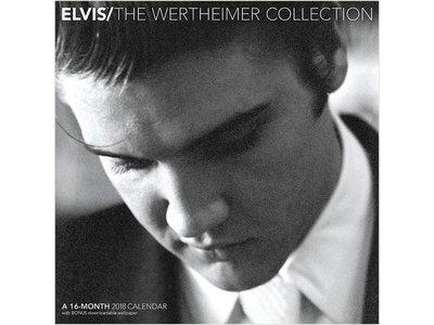 Kalender 2018 - Elvis The Wertheimer Collection