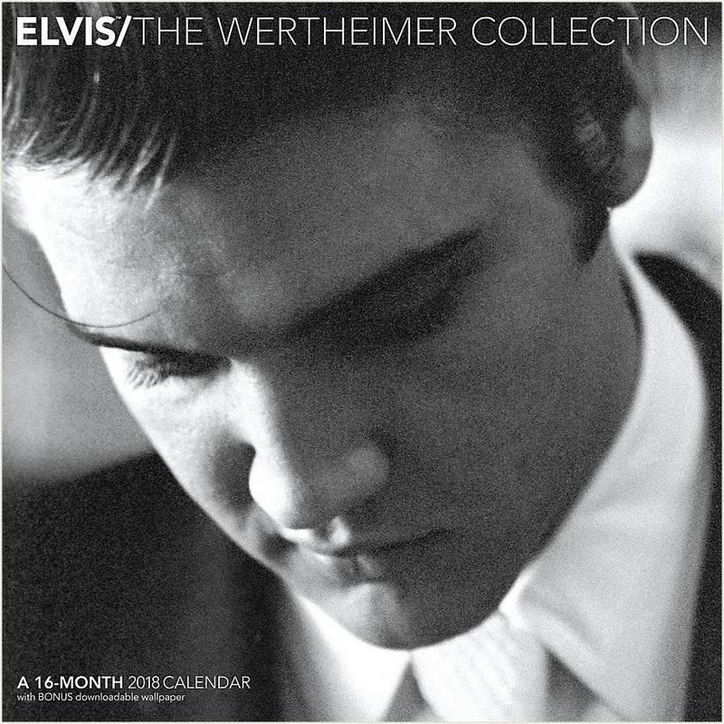 Kalender 2018 - Elvis The Wertheimer Collection