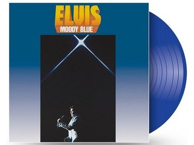 Moody Blue - Clear Blue Vinyl - 40th Anniversary Elvis' Passing