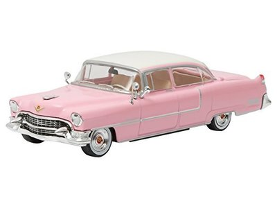 Pink Cadillac Of Elvis  Schaal 1/64 With Elvis Figure Schaal 1/18