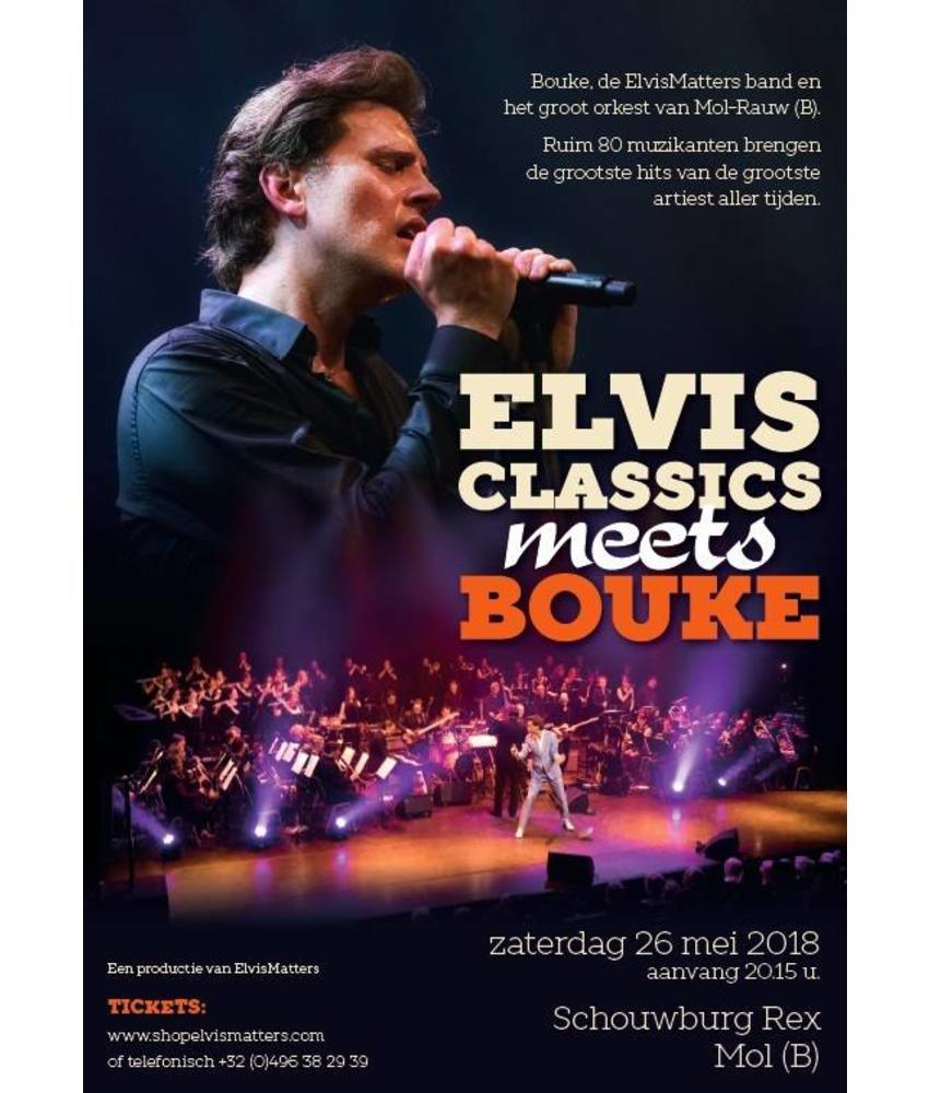 ElvisClassics Meets Bouke - Zaterdag 26 Mei 2018 - Schouwburg Rex Mol