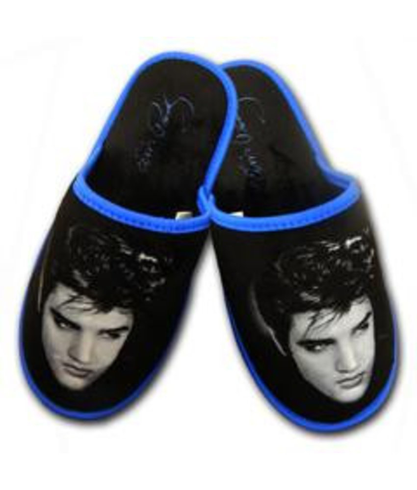 Slippers Elvis Fifties Black Hair