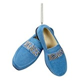 Ornament Elvis Blue Suede Shoes
