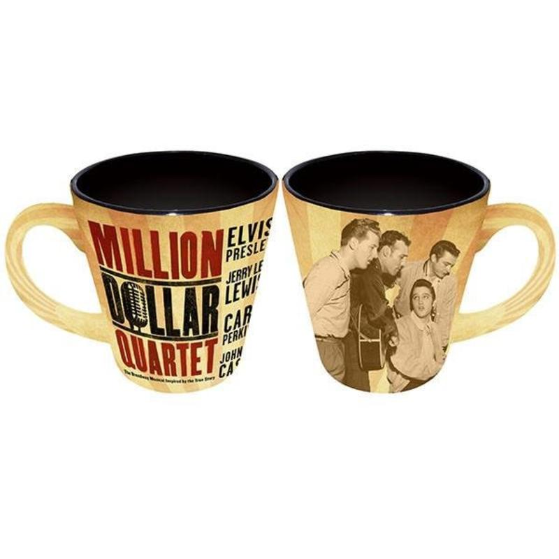Mok Million Dollar Quartet - Elvis Musical Logo