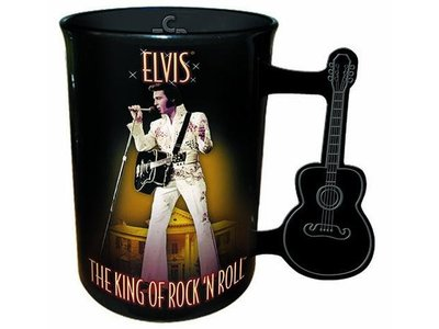 Mok Elvis Gitaar Handvat Aloha