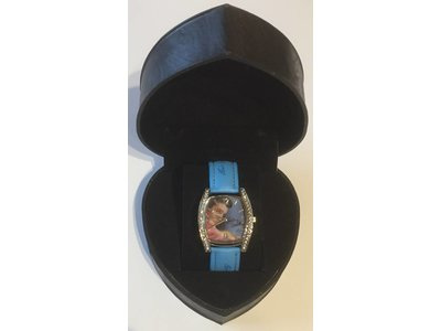 Horloge Elvis Pink Jacket - Blue Band