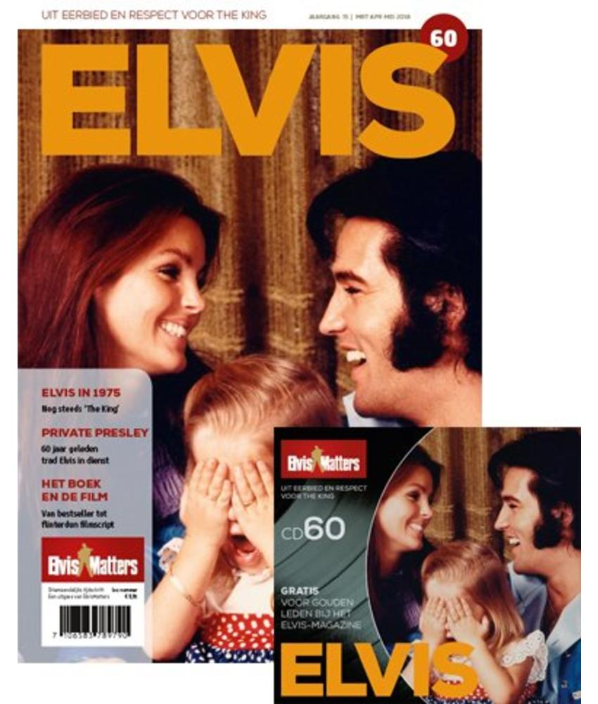 Magazine with CD - ELVIS 60