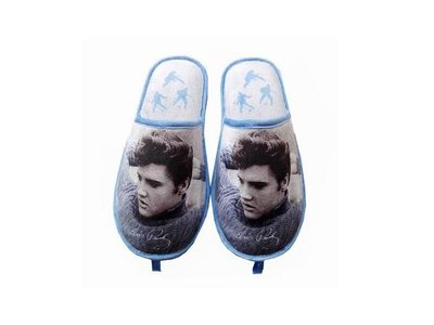 Slippers Elvis Blue Sweater