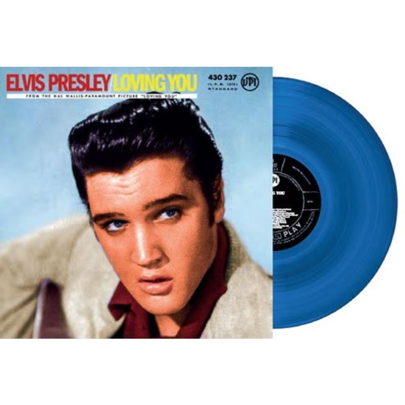 Elvis Presley Loving You Blue Vinyl - RSD 2018