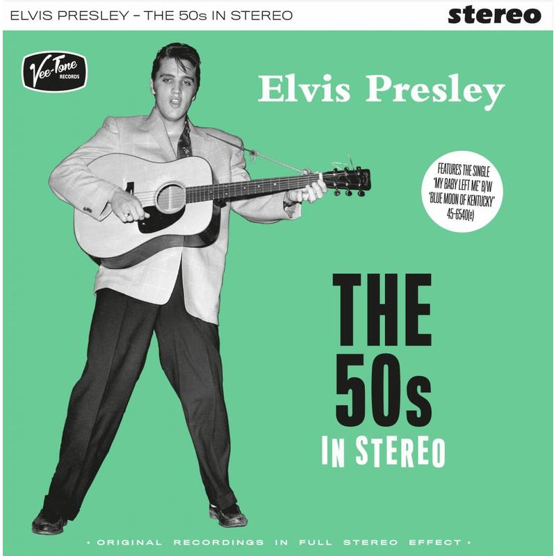Elvis Presley - The 50 s In Stereo On Green Vinyl - Neophonic Stereo