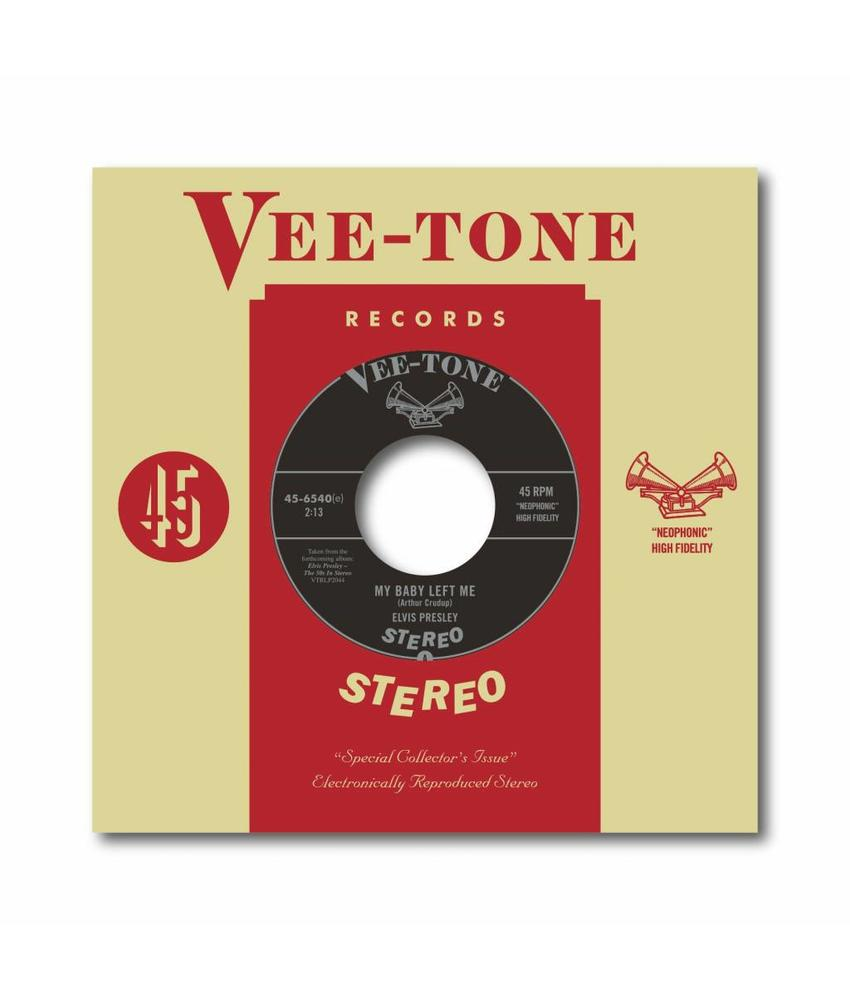 "Elvis Presley - My Baby Left Me 7"" Red Vinyl Single - Neophonic Stereo"