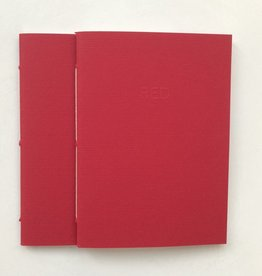 Piacero Red Journal  Notebook (set of 2)