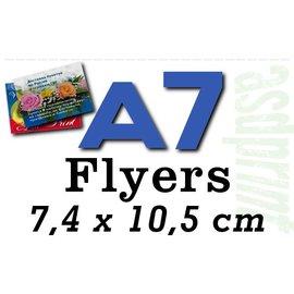Standaardflyers A7