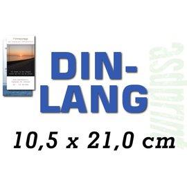 Standaardflyers DIN-lang