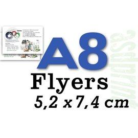 Standaardflyers A8