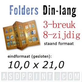 Folders DIN-LANG 8 zijdig