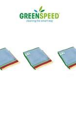 Greenspeed Voordeelset microvezeldoeken 'Basic'. 12 stuks van 40 x 40 cm.