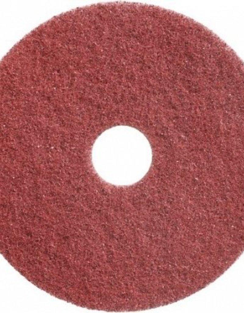 Wecoline Twister schuurpad rood, set van 2