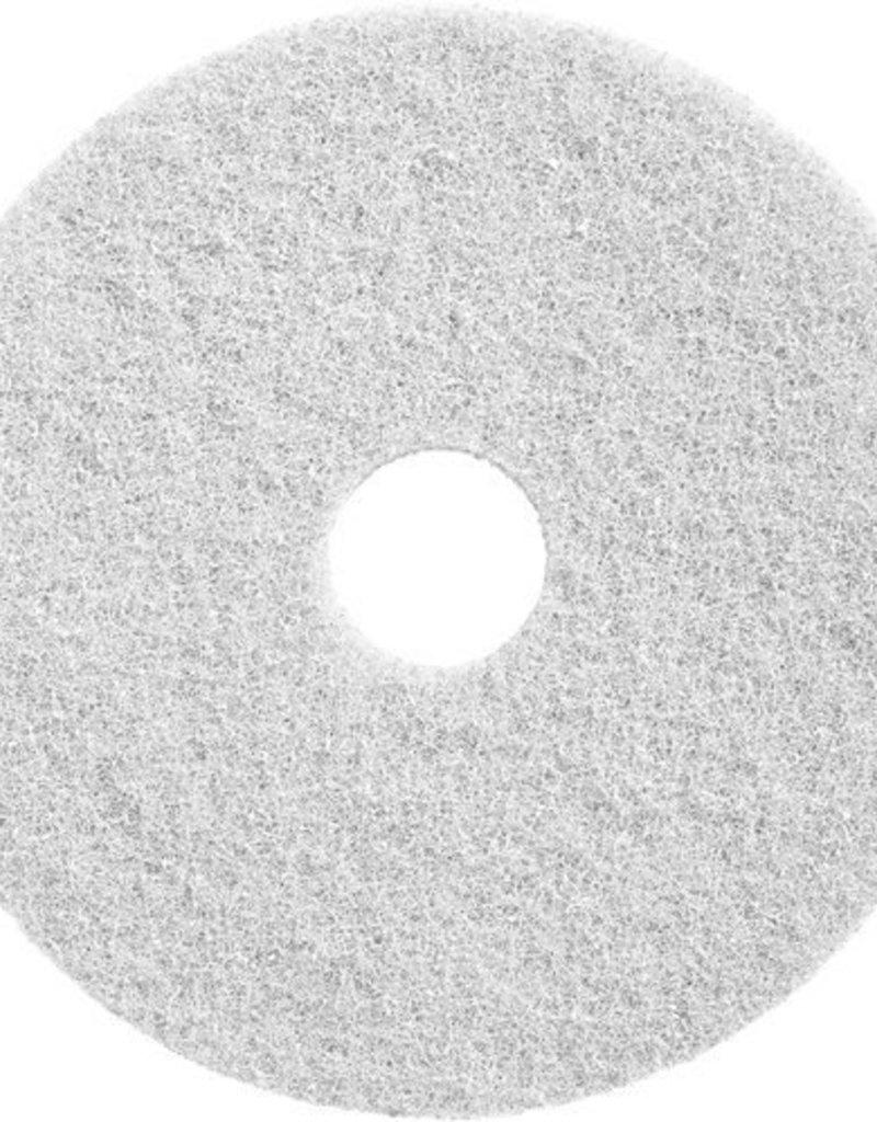 Wecoline Twister schuurpad wit, set van 2