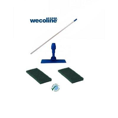 Wecoline Doodlebug op steel inclusief 2 schrobpads