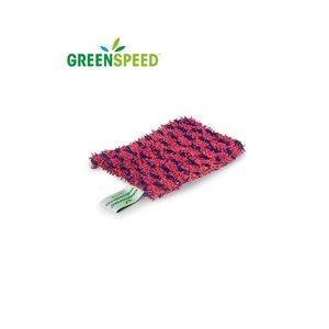 Greenspeed Handscrubby flex,  wasbare schuurspons 14x10 cm