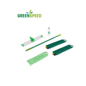 Greenspeed Greenspeed vlakmopset onderhoud en schrobben