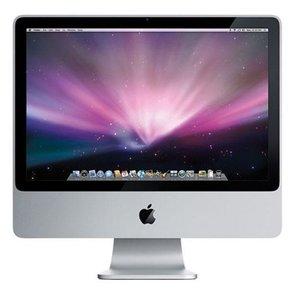 "Apple iMac 20"" Intel C2D 2.4 Ghz - 4 GB RAM - 250 GB HDD"