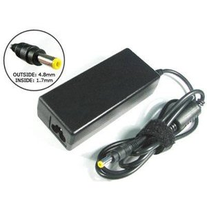 HP HP Adapter - 18.5 V - 3.5A - 65W - connector HP 4.8 x 1.7 mm