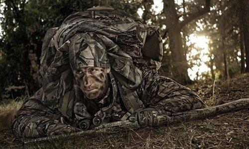 Camouflage kleding
