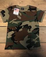 Kinder Camou USA T-Shirt
