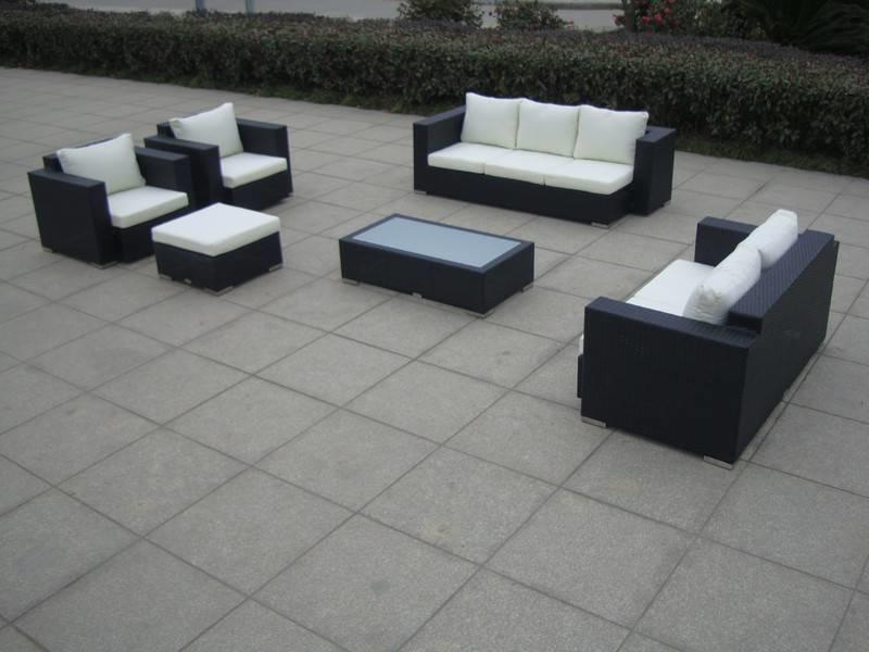 "Loungeset "" Daylight Zwart """