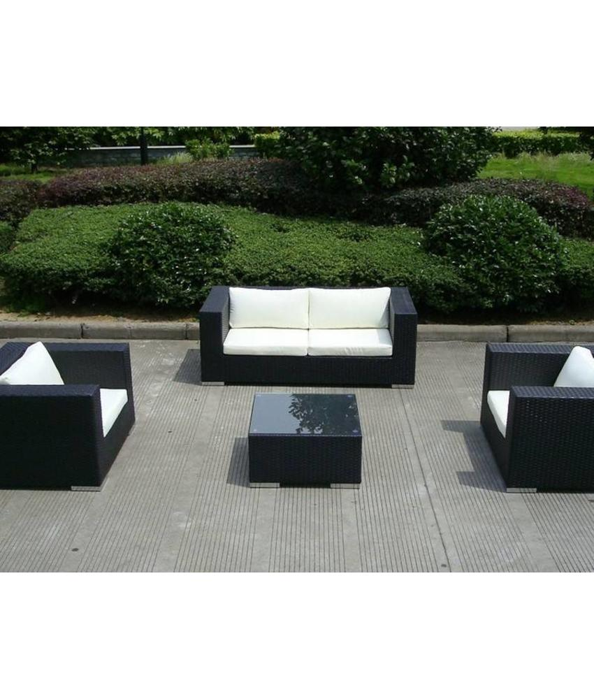 "Loungeset "" Mirage Zwart """