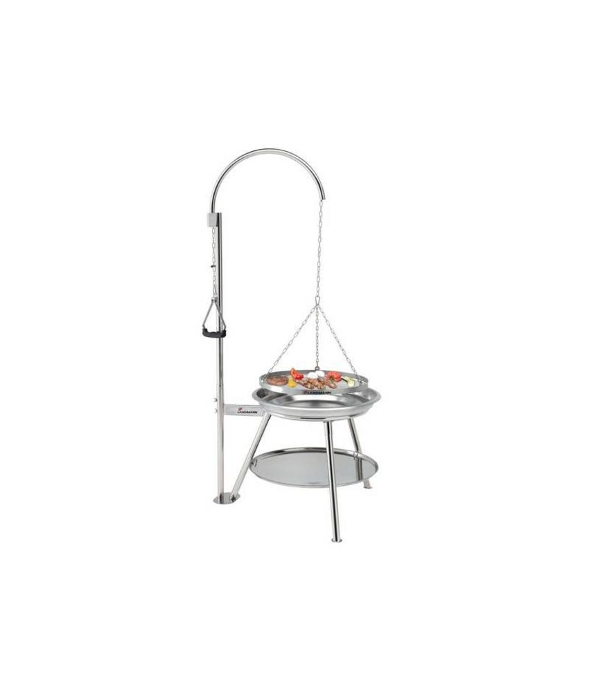 "Barbecue "" Tripod Swing Geos RVS """